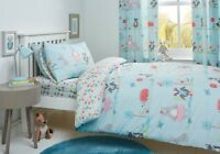 Woodland Fox Children's Reversible Duvet Cover Set and Accessories