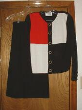 Women's Laura Petites by Alyzio Knit Skirt & Sweater Dress Set Size 4