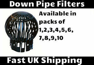 Gutter Balloon Guard Downpipe Filter Debris Catcher Down Pipe Leaves Cover Moss