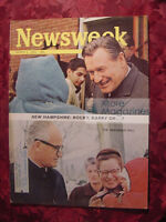 NEWSWEEK March 9 1964 3/9/64 PRIMARIES CASSIUS CLAY ++