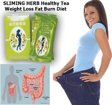 Slimming Herb Healthy Tea Weight Loss Fat Burn Diet Slim Fast Detox Cleansers
