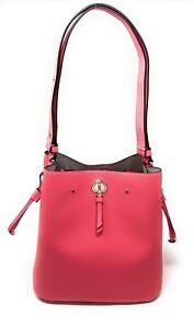 Kate Spade Marti Large Leather Bucket Bag Shoulder Bag Crossbody WKRU6827