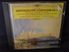 Mendelssohn – symphonie No. 3/OUVERTURES-LSO/Claudio Abbado