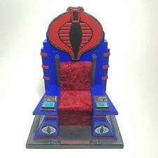 "CUSTOM 1:12 Scale Cobra Commander Throne - Fits 6"" GI Joe Classified Destro Etc"