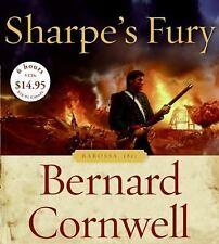 SHARPE'S FURY bestselling audio book on CD by BERNARD CALDWELL - Brand New!