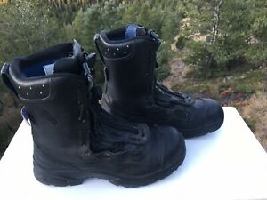 Haix Men's US 10.5 D Airpower XR1 Fire/Work Boots Black 605113