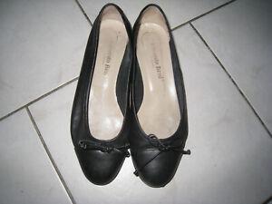 Edoardo Beni Firenze Damen Ballerinas , schwarz, Größe: 37