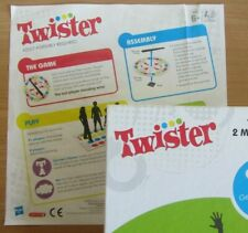 TWISTER INSTRUCTIONS ONLY Hasbro 2012 EXTRA REPLACEMENT Kid's Family Party Game