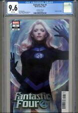 Fantastic Four #1 - Stanley Artgerm Lau Invisible Woman Variant - CGC 9.6 - 2018