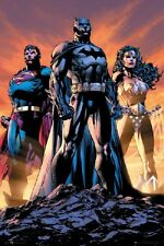 DC COMICS JUSTICE LEAGUE POSTER Superheros Trio New Poster 24x36 USA Seller