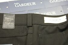 Gardeur 44W X 30.25L Black Flat Front 5 Pocket Hybrid  $220 anti-UV LIGHT WEIGHT