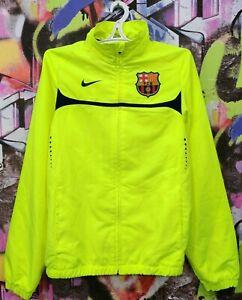 Barcelona Barca Spain 2009 2010 Football Soccer Longsleeve Jacket Nike Mens S