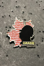 UA PLUMBERS PIPEFITTERS STEAMFITTERS  UNION LOCAL 488 Lapel Pin