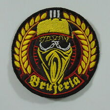 BRUJERIA Band Logo Round Graphic (Embroidered Small Patch) (NEW)