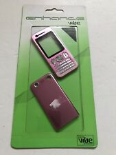 Sony Ericsson W890 Fascia Housing Cover Front Back Metal Case Keypad Baby Pink