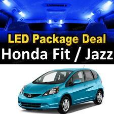 6 Blue LED Lights Interior Package Deal For 2009 - 2013 2014 Honda Fit & Jazz