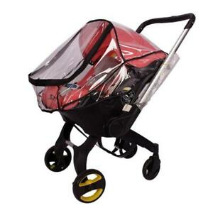 Baby Stroller Rain Cover Infant Car Seat Waterproof Windproof Transparent Shield