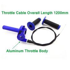 CNC Aluminum Twist Throttle Grips Cable For Yamaha TTR 110 125 YZ 250 Dirt Bike