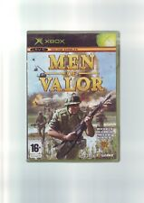 MEN OF VALOR - XBOX FPS SHOOTER VIETNAM GAME - FAST POST - ORIGINAL & COMPLETE