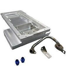 LS1 Engine Aluminum Front Sump Oil Pan For 89-98 Nissan 240SX S13 S14