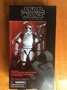 star wars black series 6 inch First Order Stormtrooper Executioner Exclusive