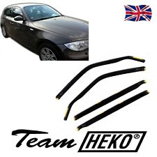 HEKO TINTED WIND DEFLECTORS for BMW 1 SERIES E87 2004-2011 4pc