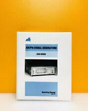 Ifr Amfm Signal Generators 2030 Series 46881 976 Operating Manual