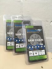 3 x ARCHER 14 INCH 50 LINK 3/8mp  x 043 GAUGE CHAINSAW CHAIN - FITS STIHL + MORE