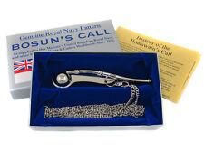 Royal Navy Bosuns Whistle RN Boatswains Call Sea Cadet