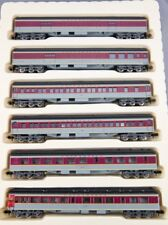 N Rivarossi Heavyweights Lackawanna 6 Car Set (Grey/Maroon) (580015)
