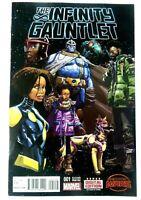 Marvel SECRET WARS INFINITY GAUNTLET (2015) #1 2nd Print THANOS! NM Ships FREE!