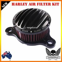 Black CNC Air Cleaner Intake Filter Kit Harley Sportster XL883 XL1200 2004-2015