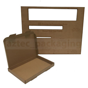 25 x C5 A5 SIZE BOX 160x230x22mm ROYAL MAIL LARGE LETTER POSTAL CARDBOARD PIP 4U