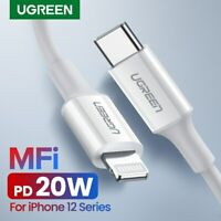 Ugreen USB C to Lightning USB Data Cable 20W PD Fast Charging for Macbook iPhone
