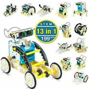 13 in 1 Stem Solar Robot Toy Educational Building Toys Coding Science kit UK