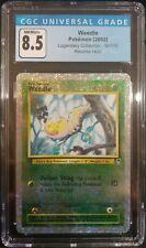 Weedle 99/110 Legendary Collection Reverse Holo CGC 8.5 NM/Mint+ Pokemon TCG