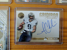 BYU, Indianapolis Colts Austin Collie Rookie Auto & Rookie Lot of 10