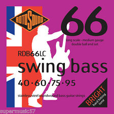 Double Rotosound RDB66LC Ball End Swing bass cordes guitare 40-95 medium gauge