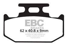 FIT SUZUKI DR 350 SET/SEV/SEW/SEX (Electric 96>99 EBC Organic Pad Set Rear Right