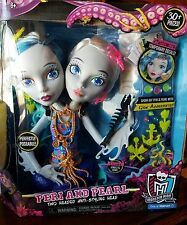 Monster High Peri and Pearl Serpentine Styling Head Jewelery & Decoration Sheets