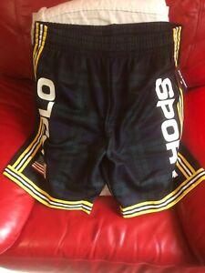 Polo Ralph Lauren Men's Performance Mesh Athletic Shorts Nwt Size M