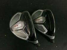 SET OF 2019 TaylorMade M6 19 & 22 LOFT # 3 & 4 HYBRID RESCUE UTILITY HEADS ONLY