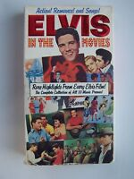 Elvis In The Movies - A Complete Film Documentary VHS Video Tape