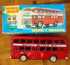 BUS TOLE DOUBLE DECKER MF185  A FRICTION AUTOBUS IMPERIALE MADE IN CHINA