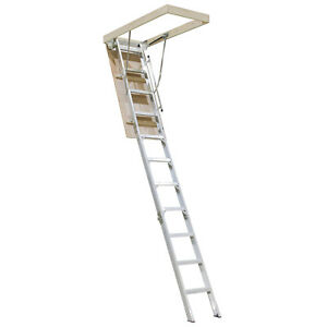 Factory Seconds Folding Attic Ladder - 2.34m to 3.12m