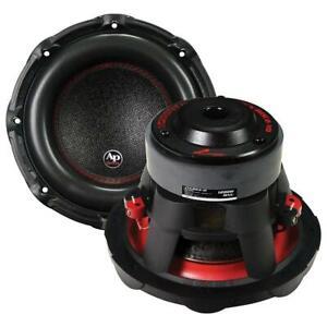"""1) Audiopipe TXXBDC210 10"""" Woofer 1200W Max 4 Ohm DVC"""