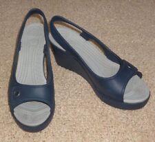 Open Toe Casual Wedge Solid Heels for Women