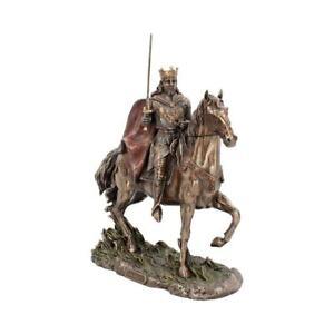 King Arthur 30cm Medieval Figurine Art Ornament Sculpture