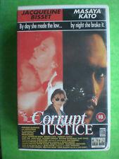 CORRUPT JUSTICE  (JACQUELINE BISSET)  ORIGINAL BIG BOX  -    RARE AND DELETED