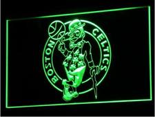 New Custom Boston Celtics NBA LED Neon Light Signs Bar Man Cave 7 colors u pick